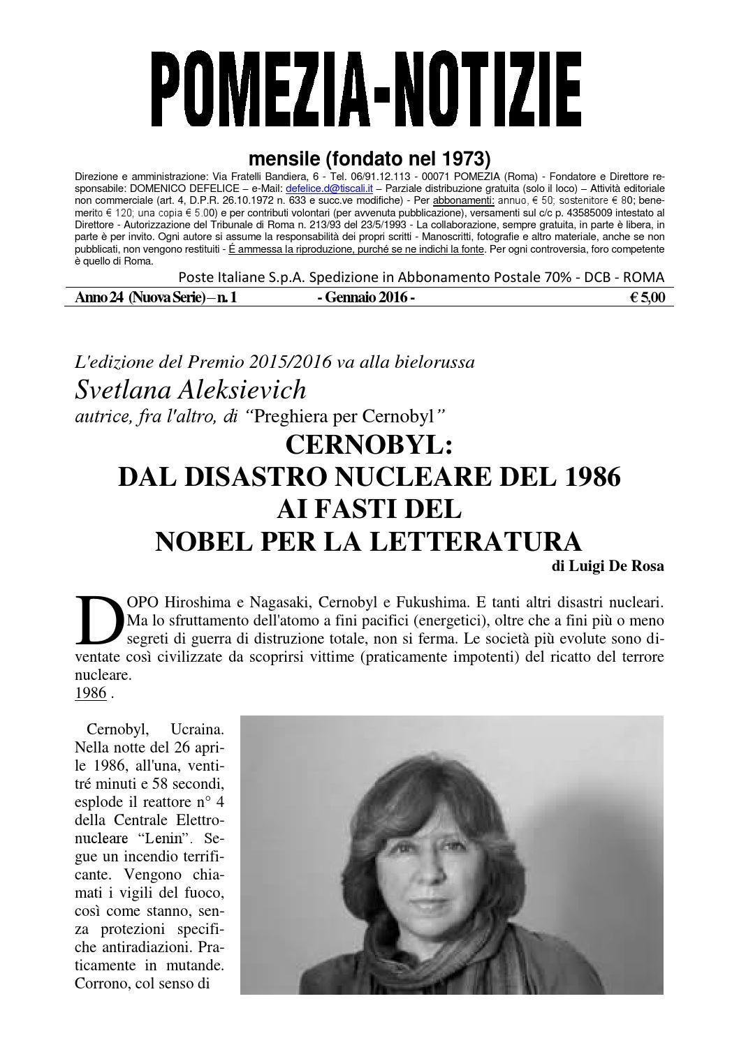 Pomezia Notizie 2016 1 by Domenico - issuu c15e82cc4b4d