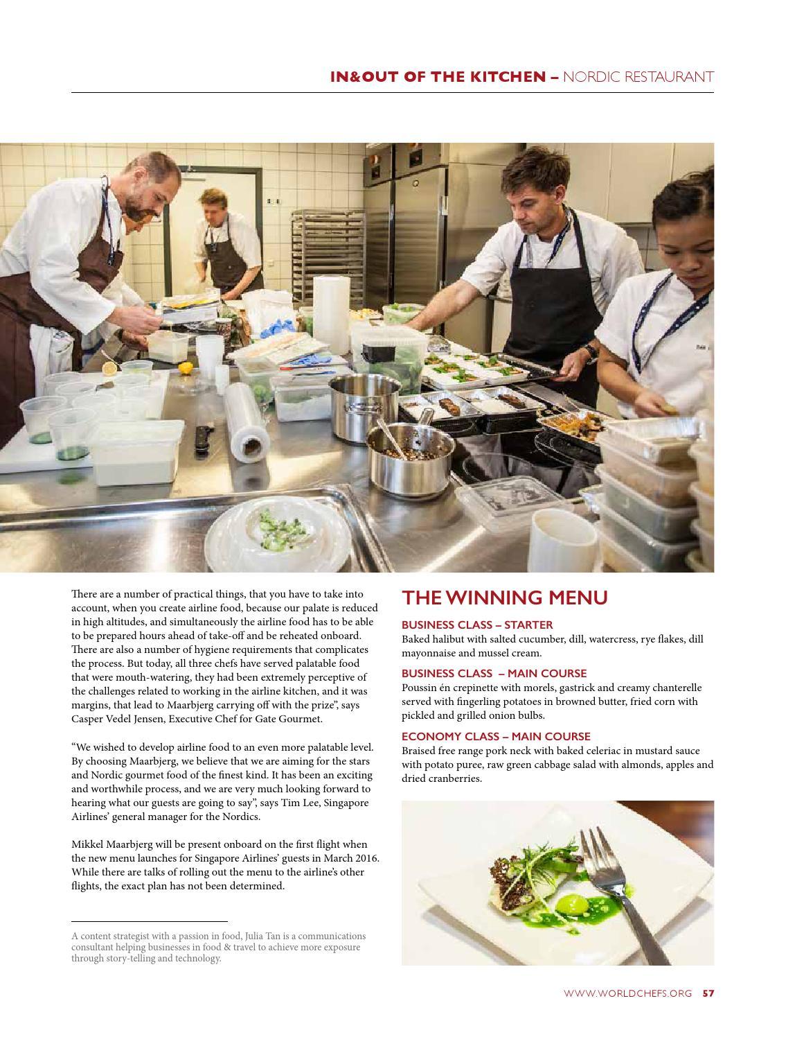 Worldchefs magazine issue 15 by World Association of Chefs Societies ...