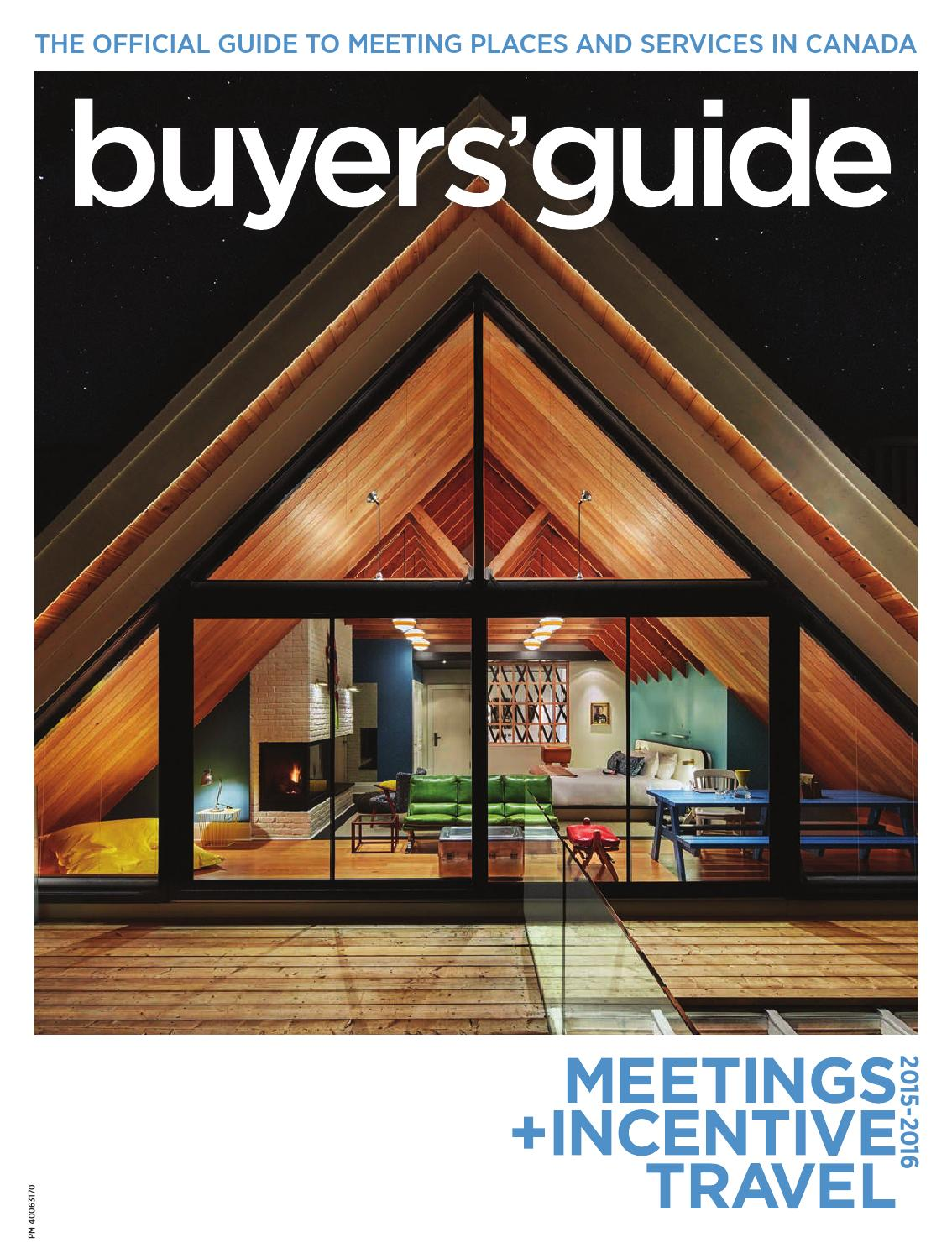 Meetings + Incentive Travel Buyers Guide 2015 by Annex-Newcom LP - issuu