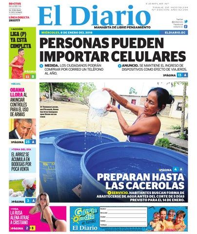 El diario miercoles 6 de enero del 2016 by EDIASA - issuu af1ecc73ce1