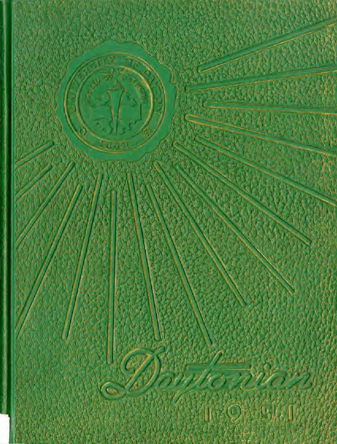 Daytonian 1951 by eCommons - issuu