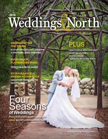 Weddings North 2016 By Brainerd Dispatch