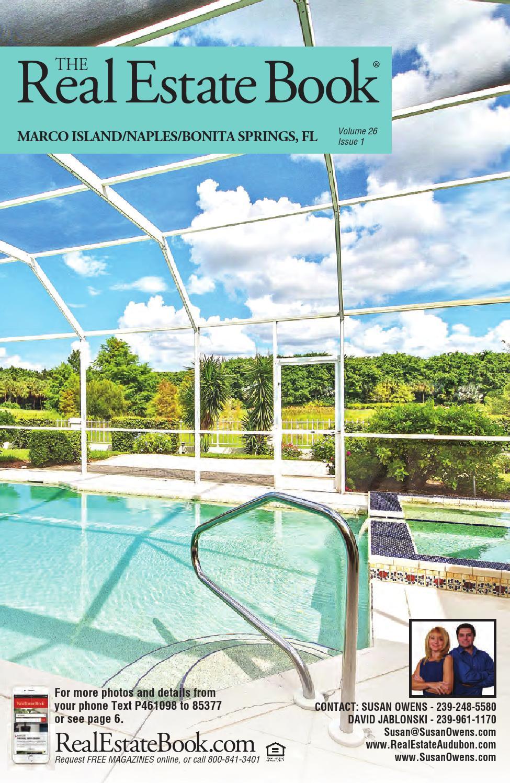 The Real Estate Book Of Naples Marco Island Bonita Springs