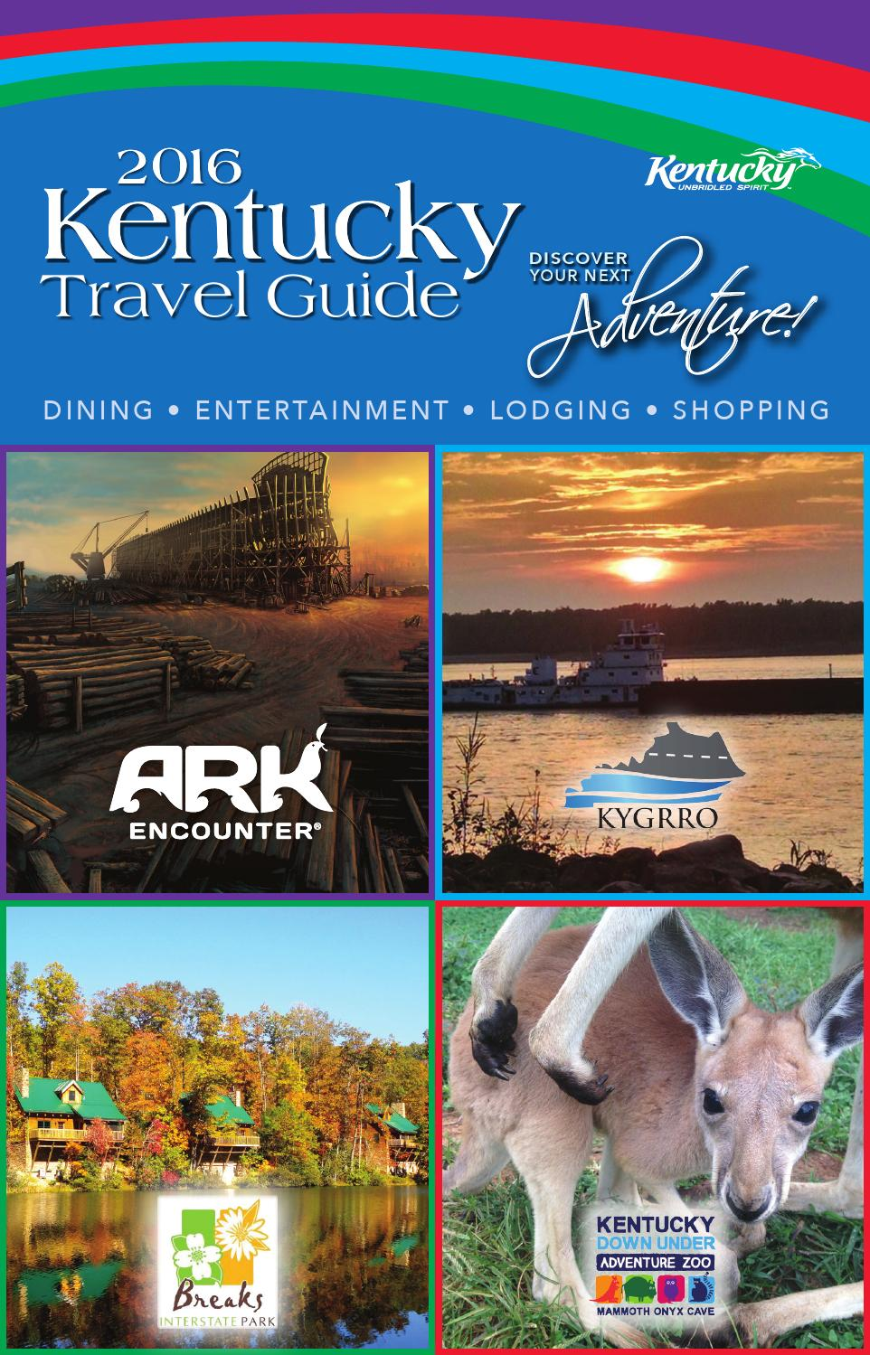 2016 Kentucky Travel Guide By