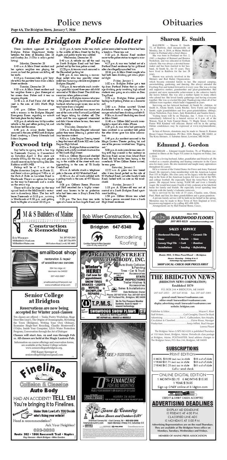 Bn01 010716 by Bridgton News - issuu