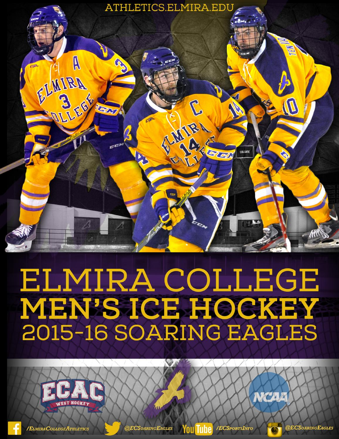 8701344a110 2015-16 Elmira College Men's Ice Hockey Media Guide by Elmira ...