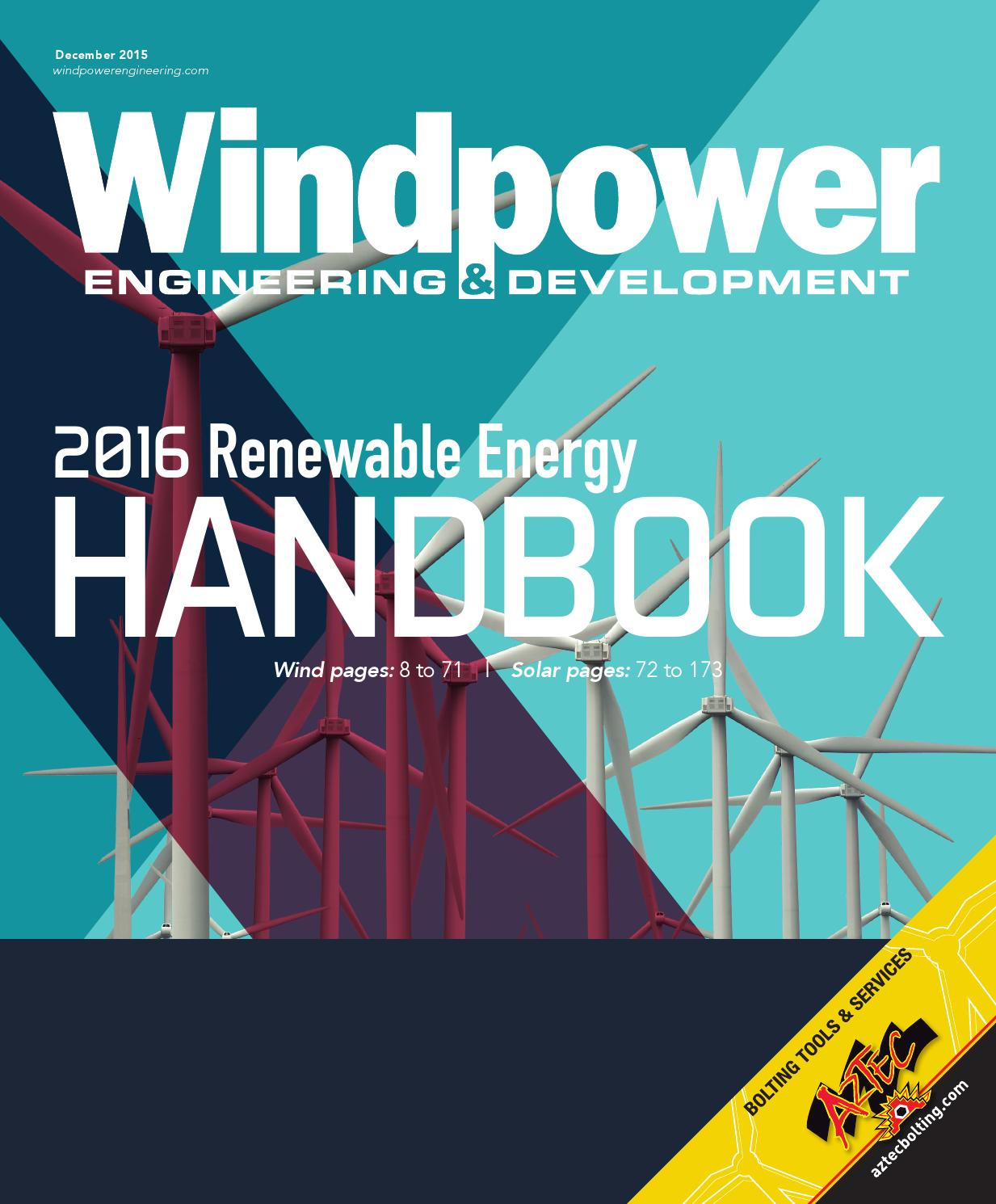 2016 Renewable Energy Handbook Wind By Wtwh Media Llc Issuu Transmission Module Likewise 120vac To 12vdc Power Supply Schematic