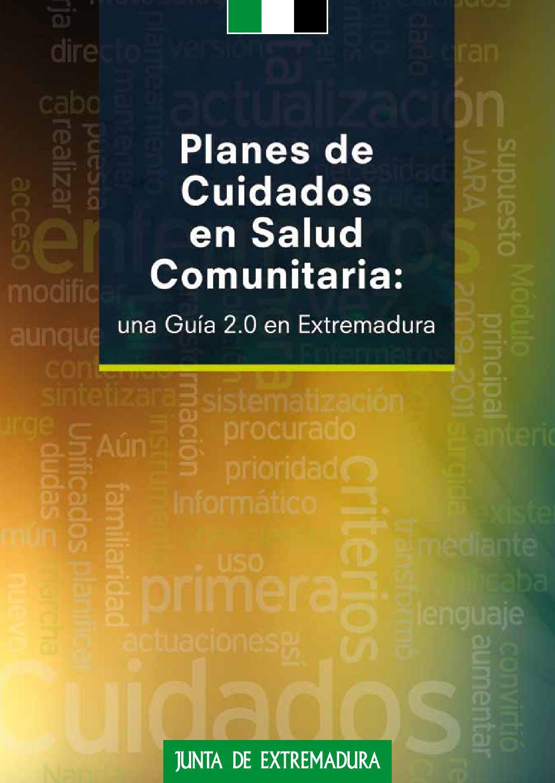fc263036067be Planes de cuidados en salud comunitaria by Extremadura Digital - issuu