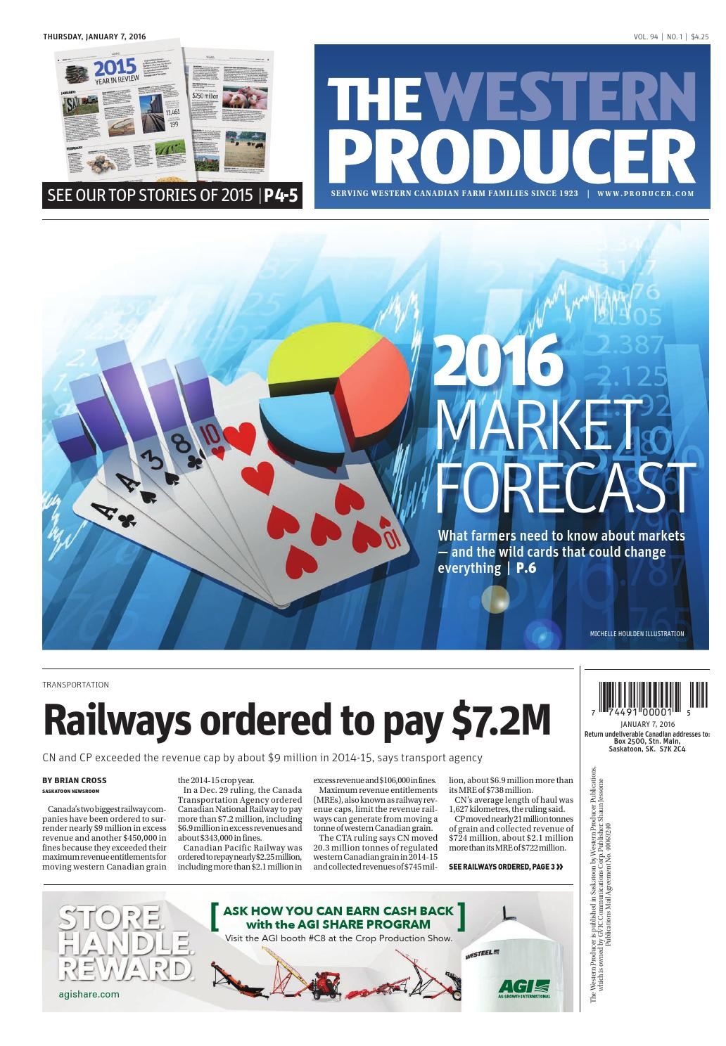 The western producer january 7, 2016 by The Western Producer - issuu