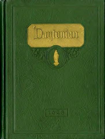 Daytonian 1928 By Ecommons Issuu