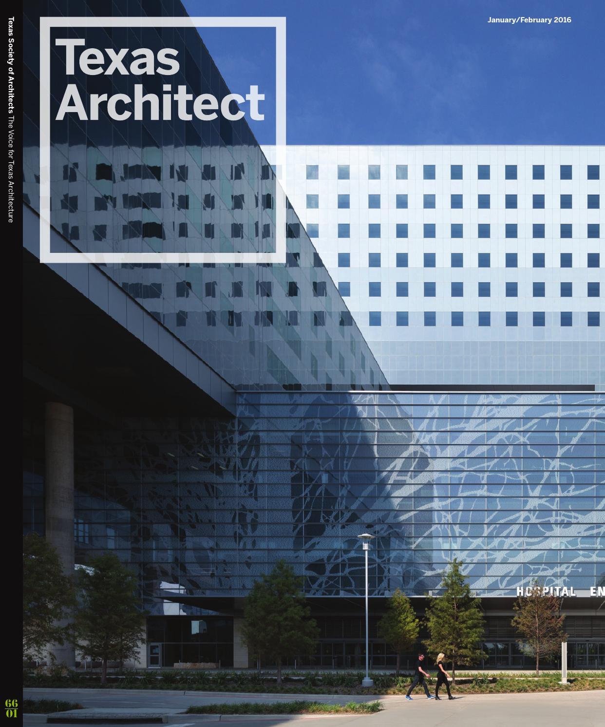 Texas Architect: January/February 2016: Data by Texas Society of ...