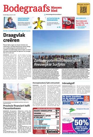 Bodegraafs Nieuwsblad week1 by Wegener - issuu 84f493033f0