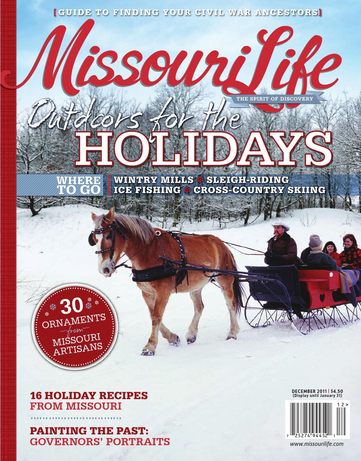 Missouri Life December 2011 January 2012 By Magazine Rodeo Bundling 5 Issuu