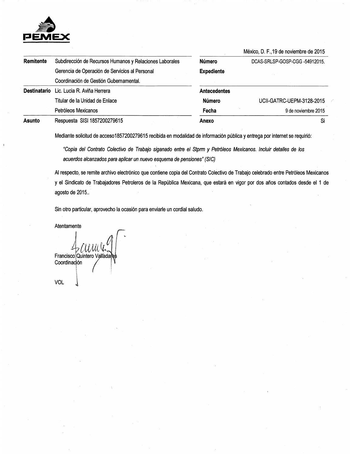 CCT Pemex-Stprm 2015-2017 by COCKTELERA - issuu