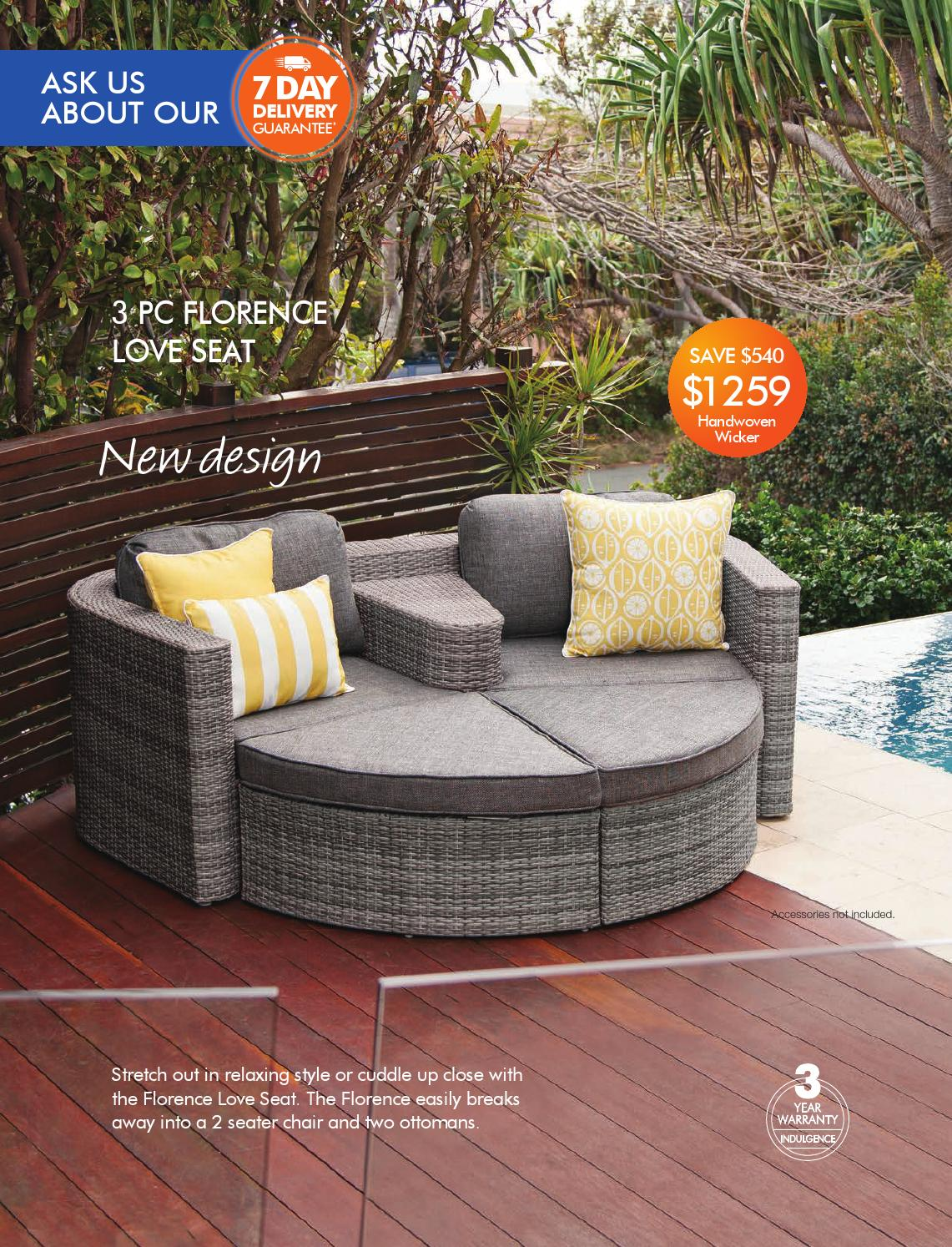 The outdoor furniture specialists warners bay summer inspirations catalogue