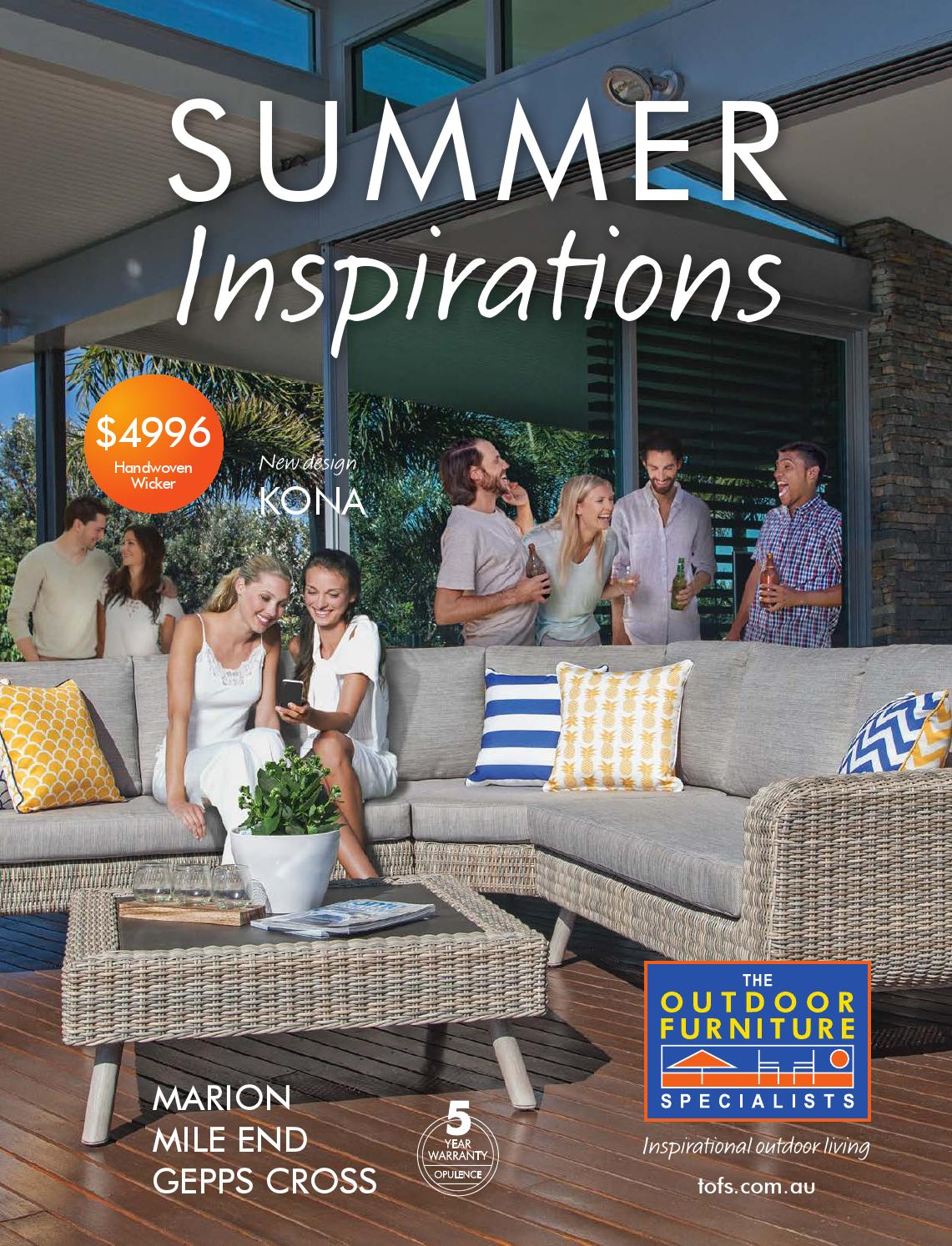 The outdoor furniture specialists sa summer inspirations catalogue