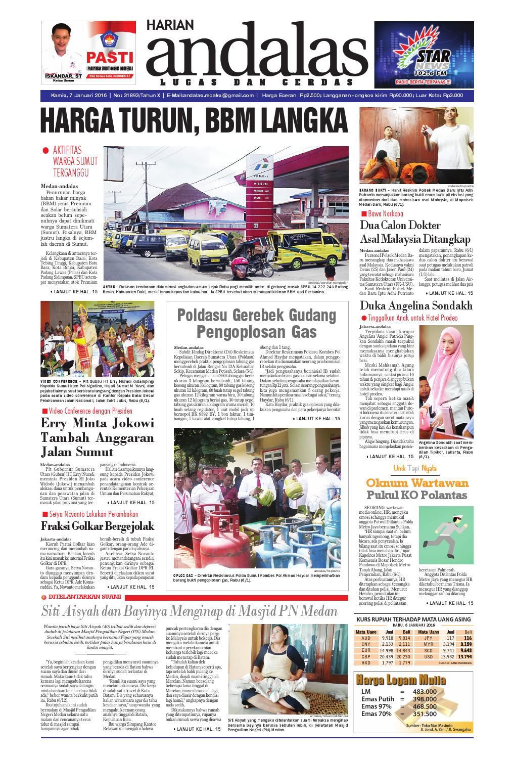 Epaper andalas edisi kamis 7 januari 2016 by media andalas - issuu 130f49d6d5