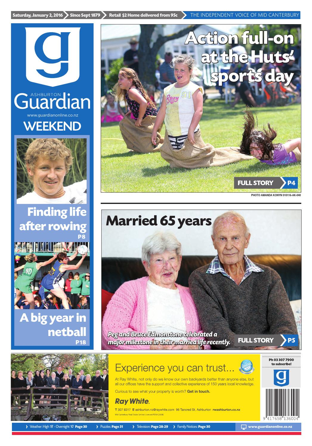 Ag 02 january, 2016 by Ashburton Guardian - issuu