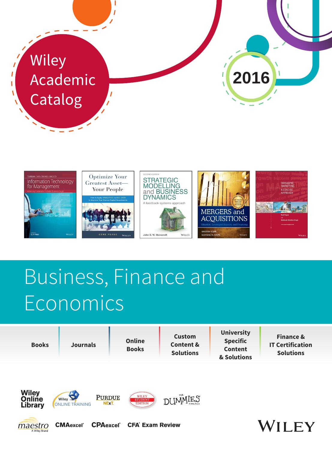 Wiley academic catalog business finance economics 2016 by wiley wiley academic catalog business finance economics 2016 by wiley india issuu fandeluxe Choice Image