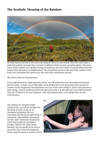 The Symbolic Meaning Of The Rainbow By Tearfulrecluse295 Issuu