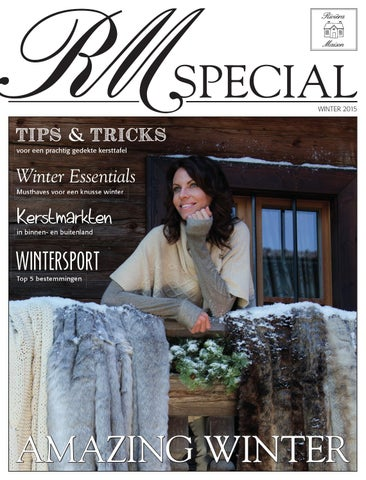 Riviera Maison Verkooppunten.Riviera Maison Magazine Special Winter By Home Center Issuu