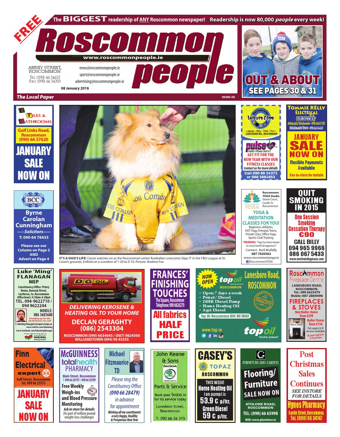 2016 01 08 by roscommon people issuu