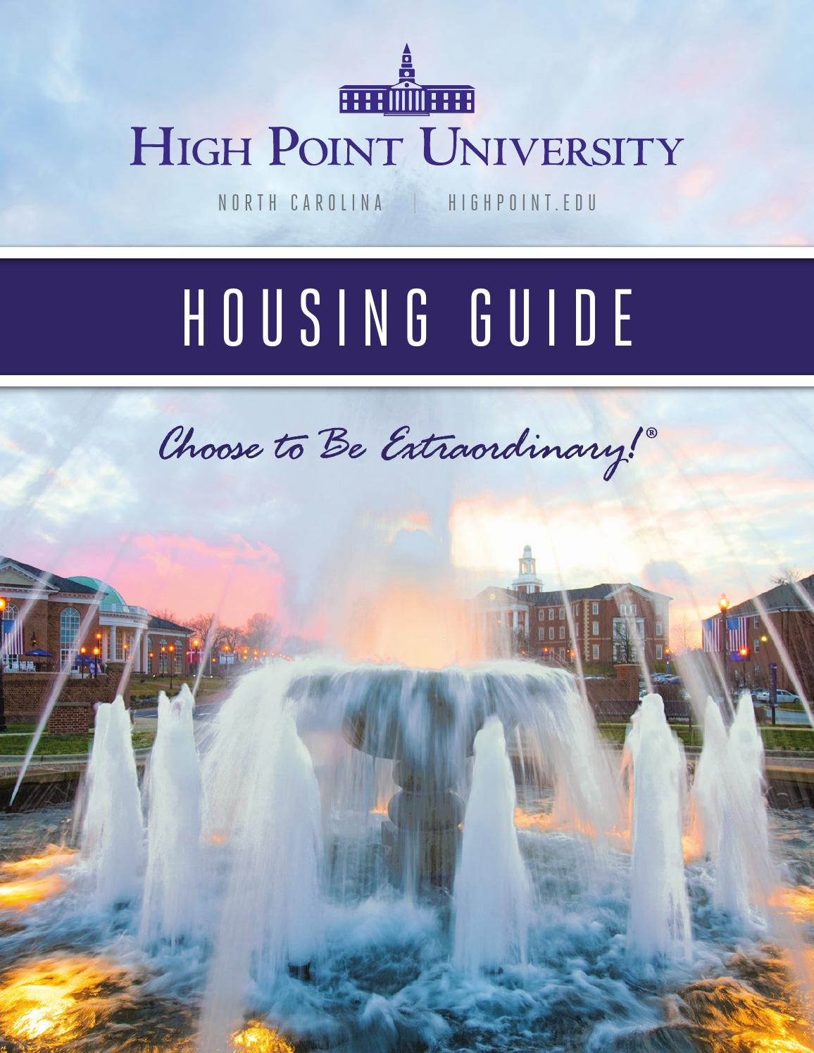 High Point University Housing Guide 2016 By High Point University   Issuu Part 61