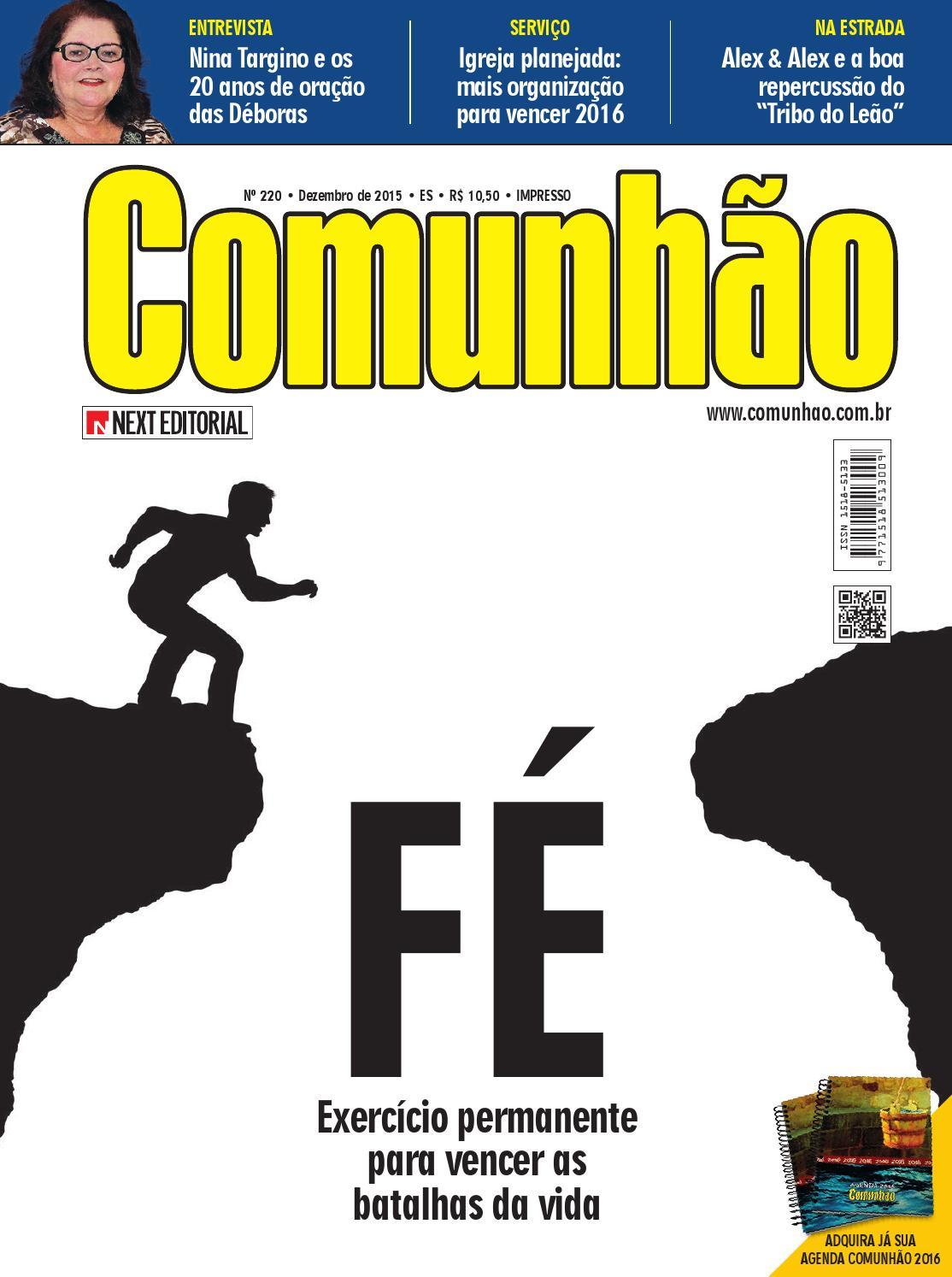 Revista Comunhão 220 by Next Editorial - issuu 594840eb1c