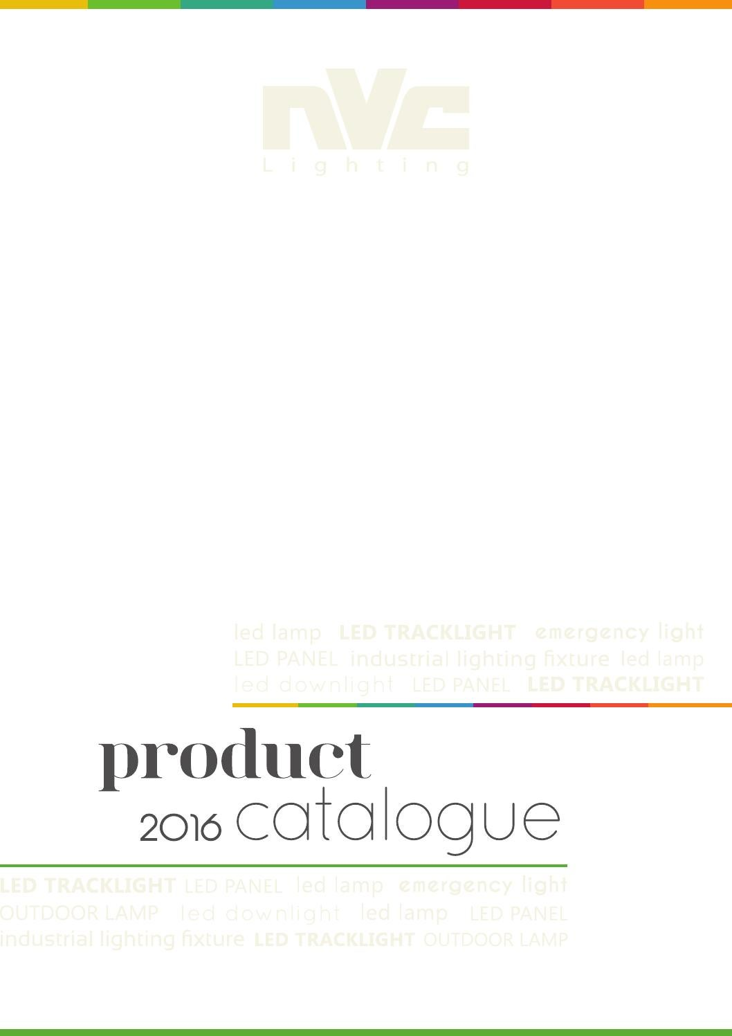 2016 Nvc Lighting Catalogue By Hungary Issuu Well Dcc Wiring Ho Train Layouts On 3 Lamp T5 Ballast Diagram