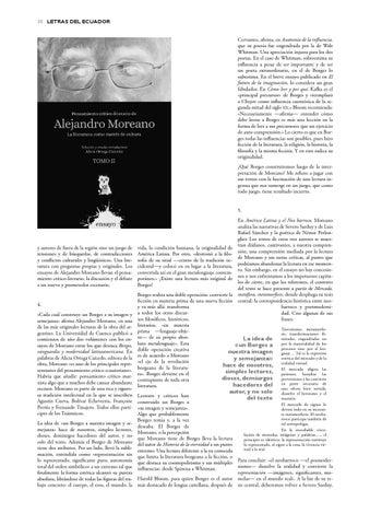 Letras del Ecuador N 202 by Revistas de la Casa de la Cultura ...