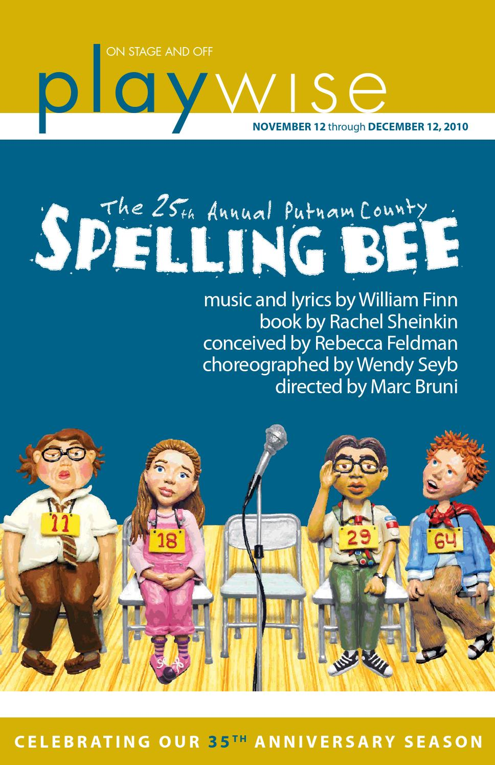 Playwise | The 25th Annual Putnam County Spelling Bee