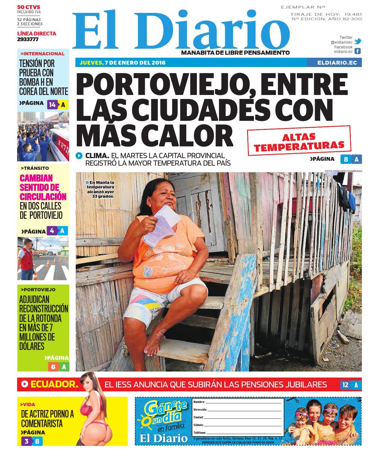 El diario 7 de enero del 2015 by EDIASA - issuu 771eb55fb95