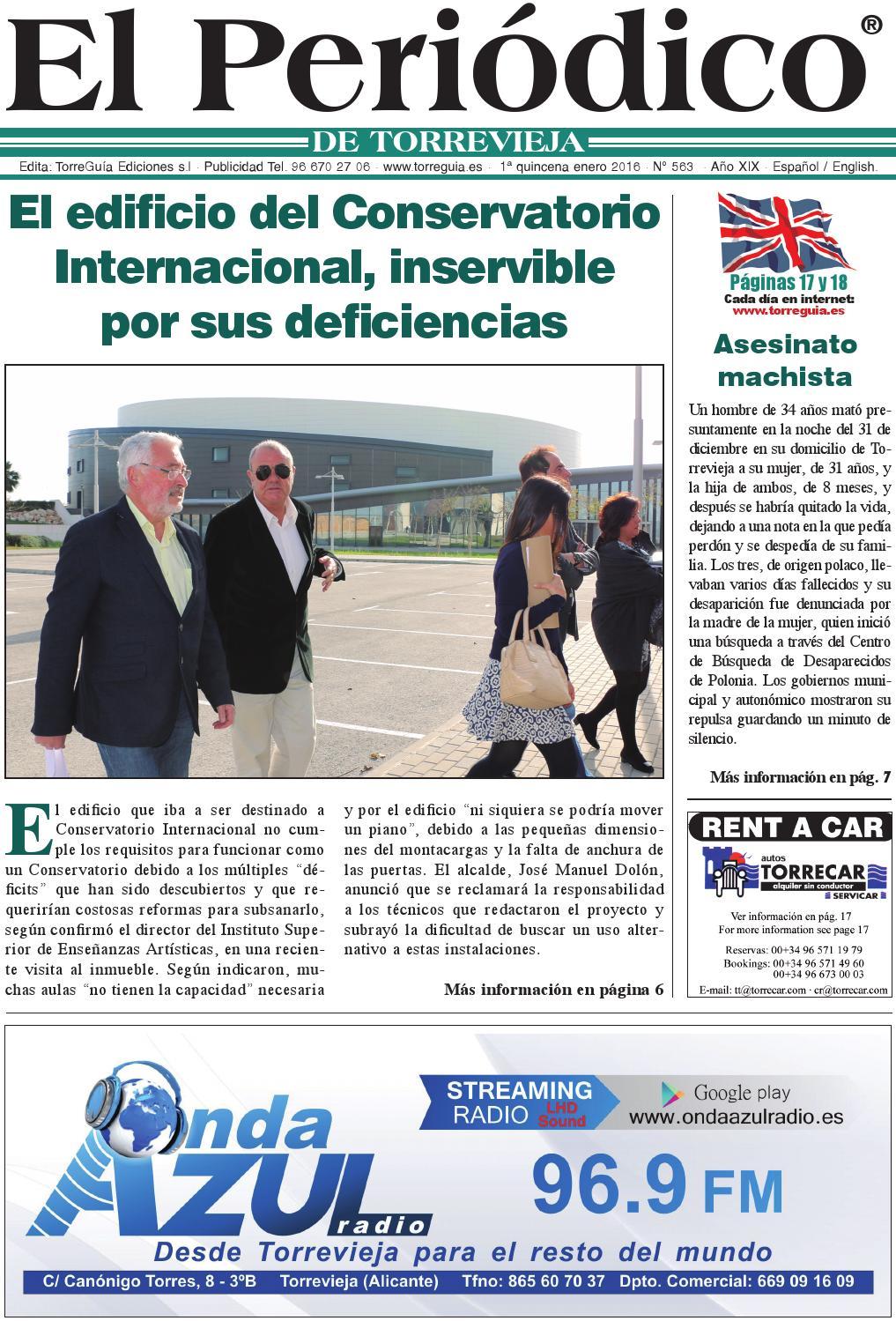 El Periódico de Torrevieja nº563 by Torreguía Ediciones - issuu