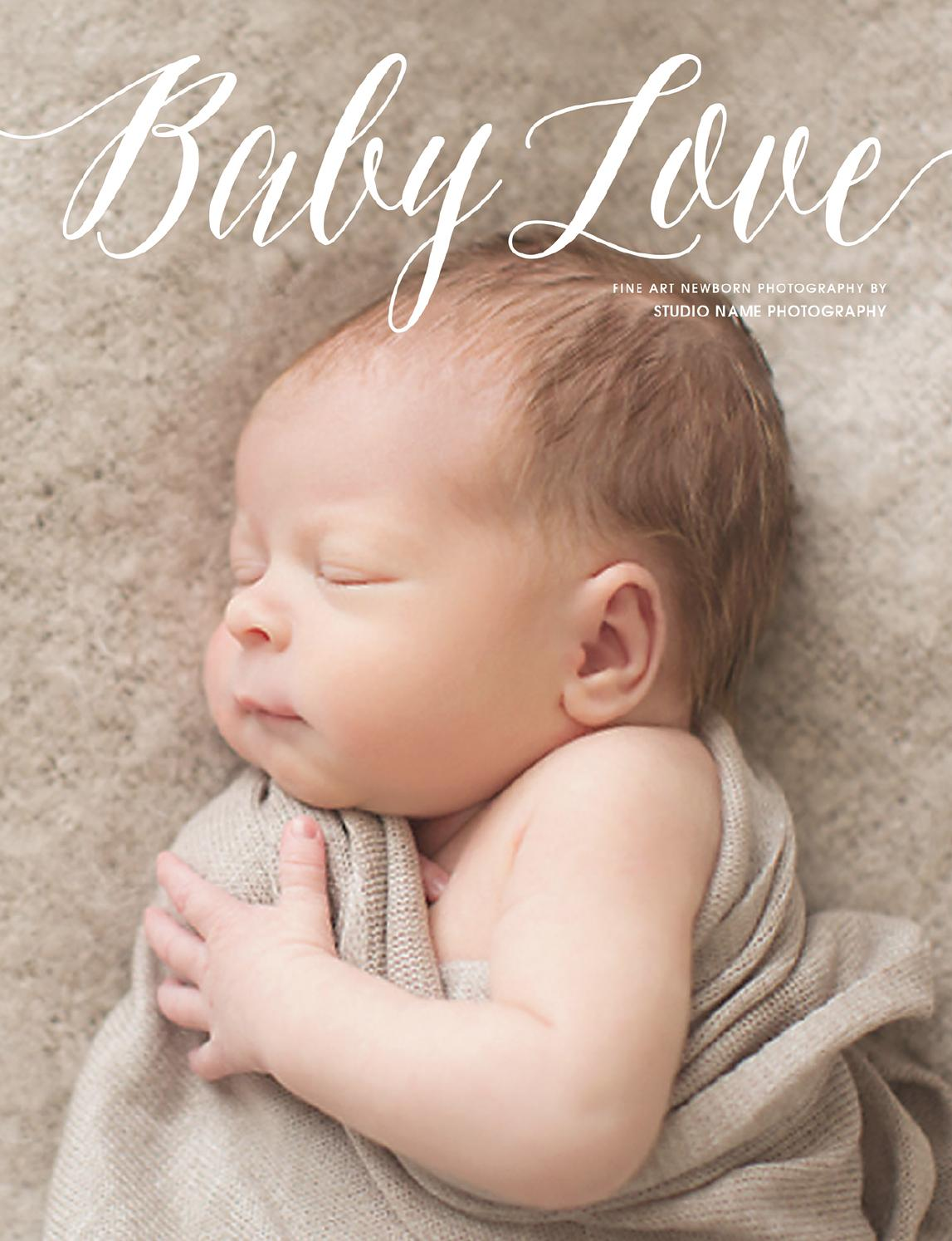 Newborn photography marketing magazine baby love by fotovella by fotovella issuu