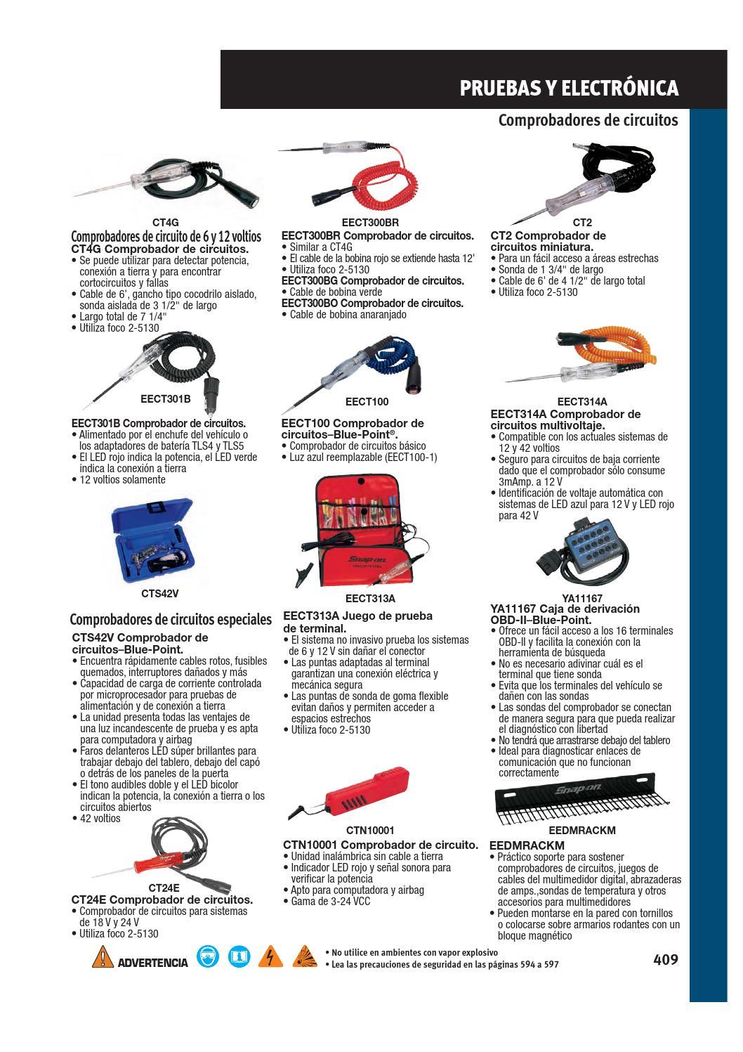 probador de circuito de cable el/éctrico fusibles 1 bol/ígrafo de sonda de coche amarillo para comprobar circuitos interruptores y cableado en autom/óviles