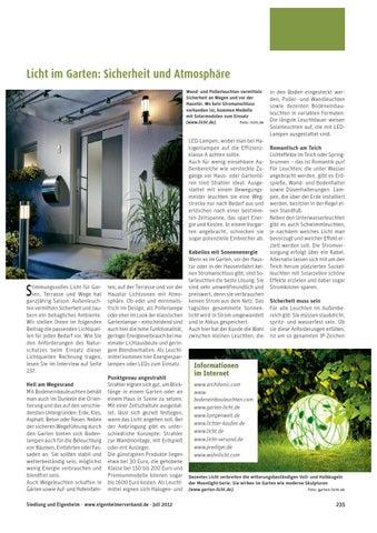Licht Im Garten Texter Wuppertal By Ute Latzke Issuu