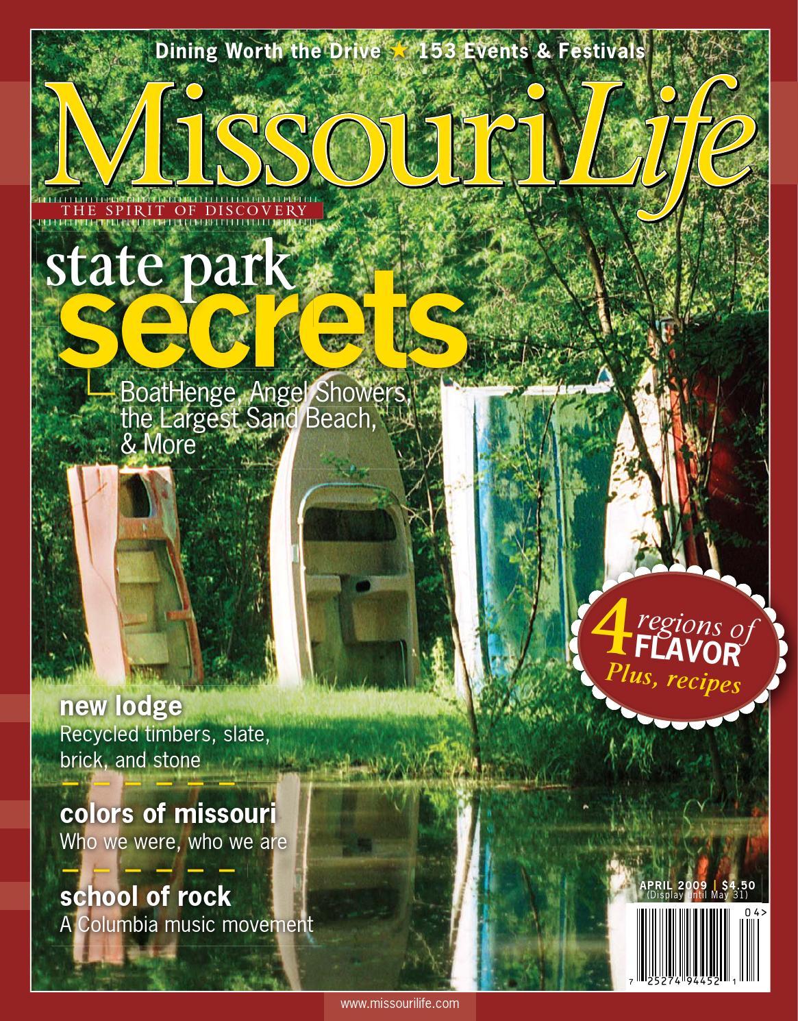f8005e08562937 Missouri Life April May 2009 by Missouri Life Magazine - issuu