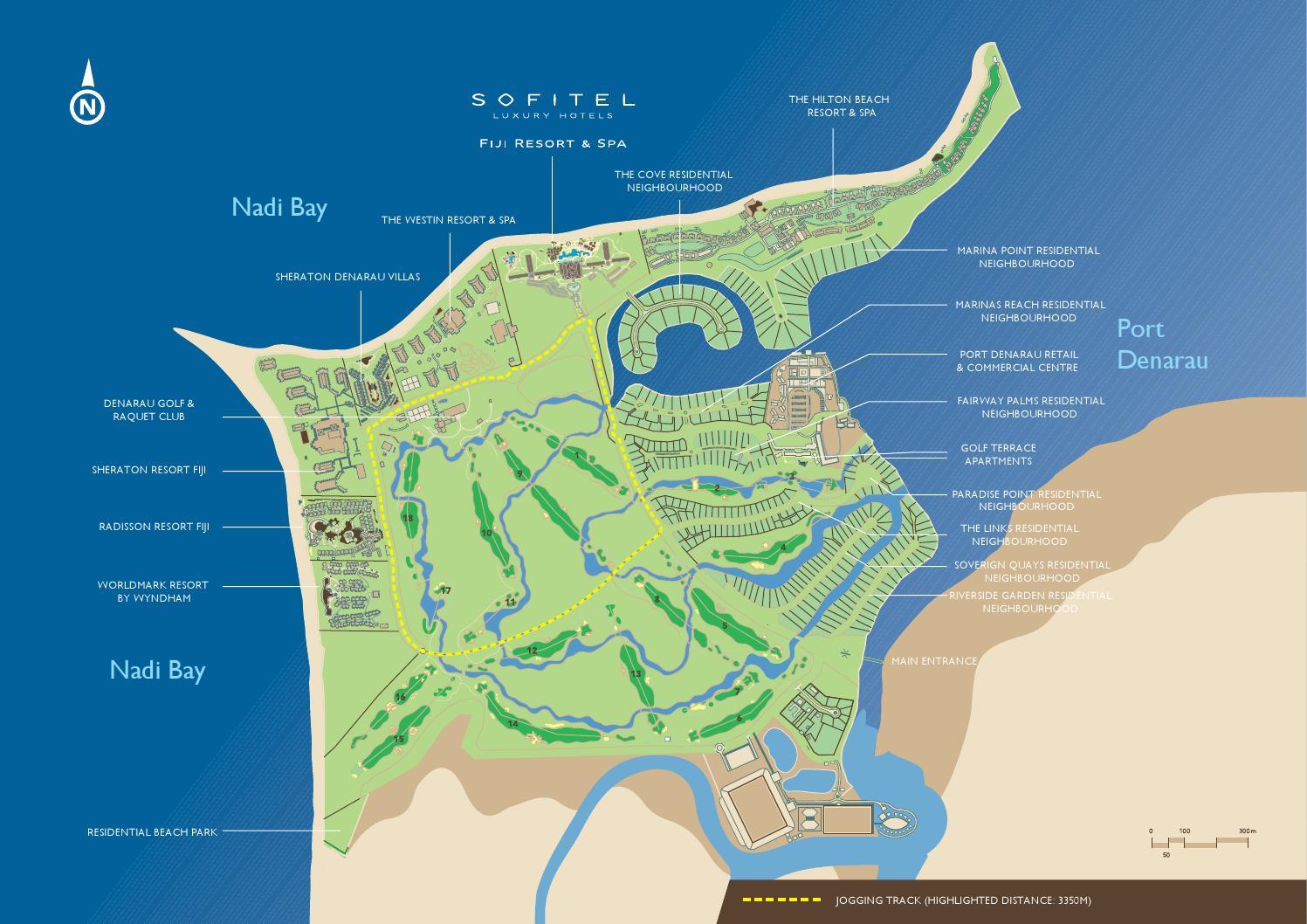 Sofitel fiji resort spa map by sofitel fiji issuu gumiabroncs Gallery