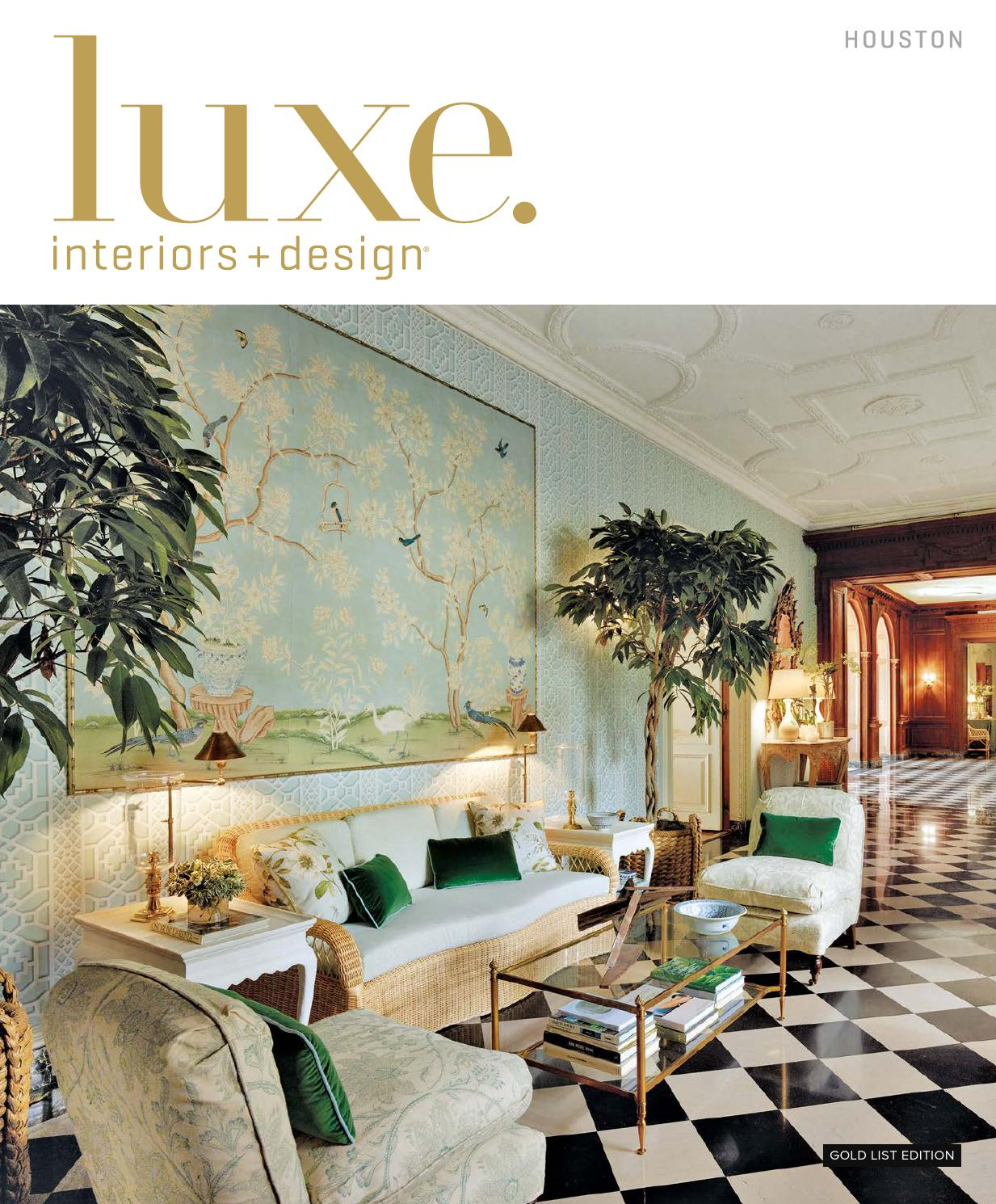 Luxe Magazine January 2016 Houston by
