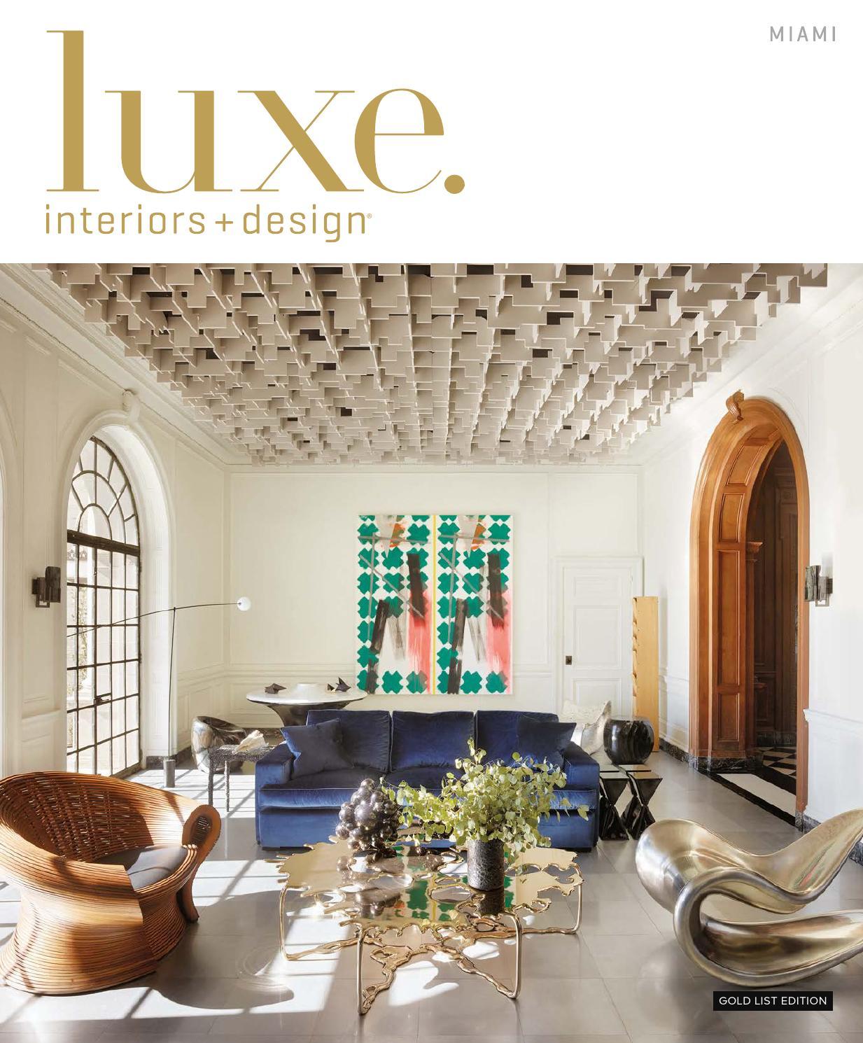 Luxe Magazine January 2016 Miami By Sandow Issuu
