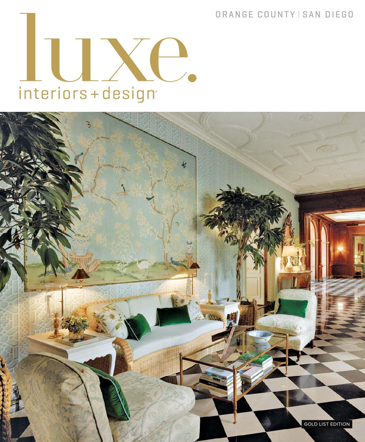 Luxe Magazine January 2016 Orange County San Diego By Sandow Issuu