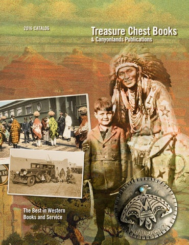 2016 TREASURE CHEST BOOKS CATALOG by Treasure Chest Books