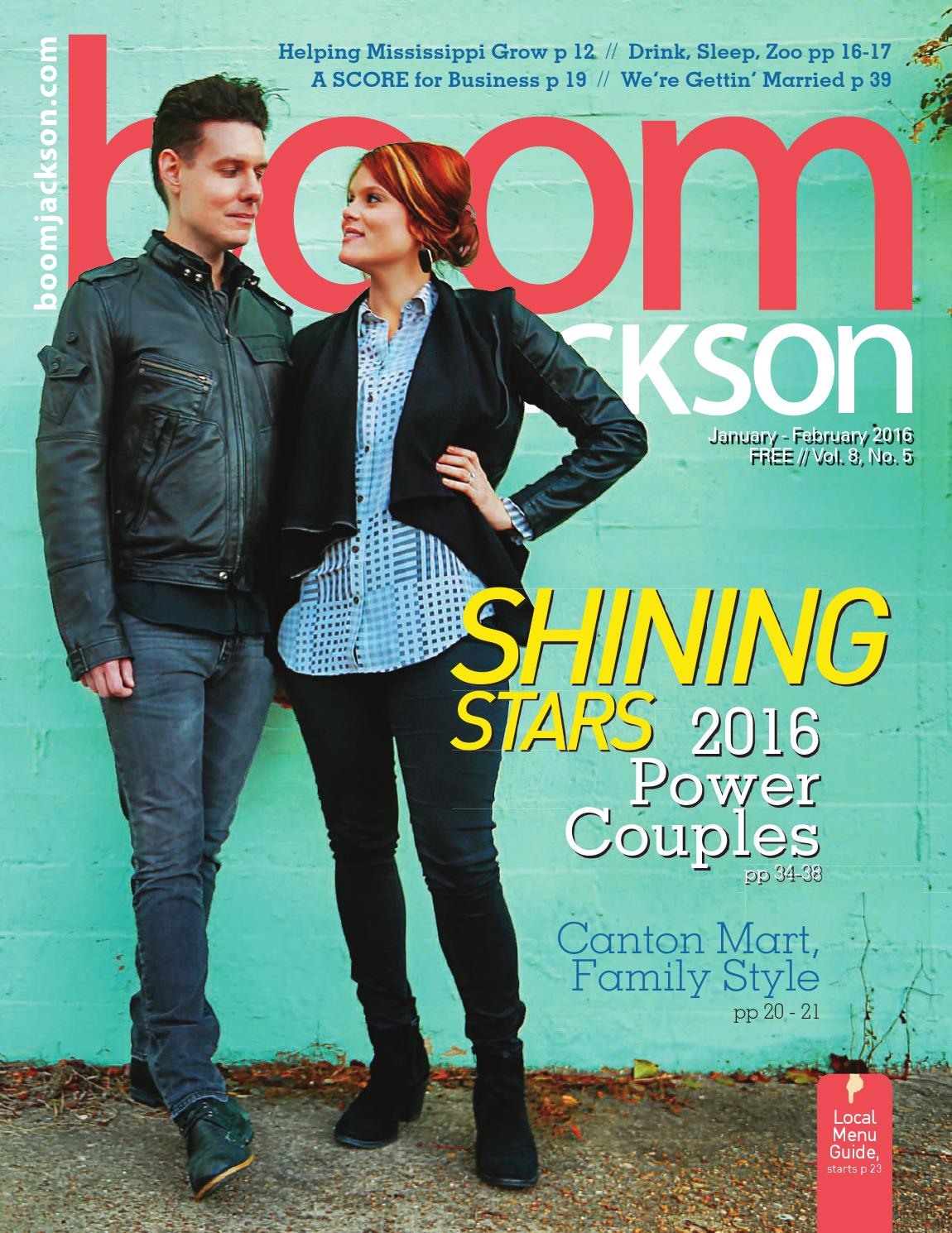 BOOM Jackson v8n5 - 2016 Power Couples by Jackson Free Press - issuu