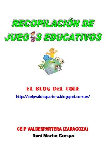 Recopilación 466 juegos educativos by Daniel Martin - issuu
