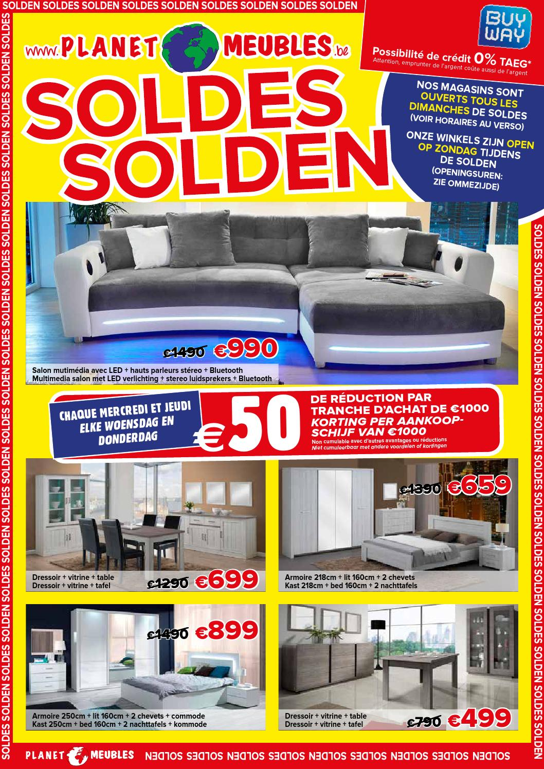 Planet meubles soldes 2016 by vasco interieur issuu for Soldes ameublement