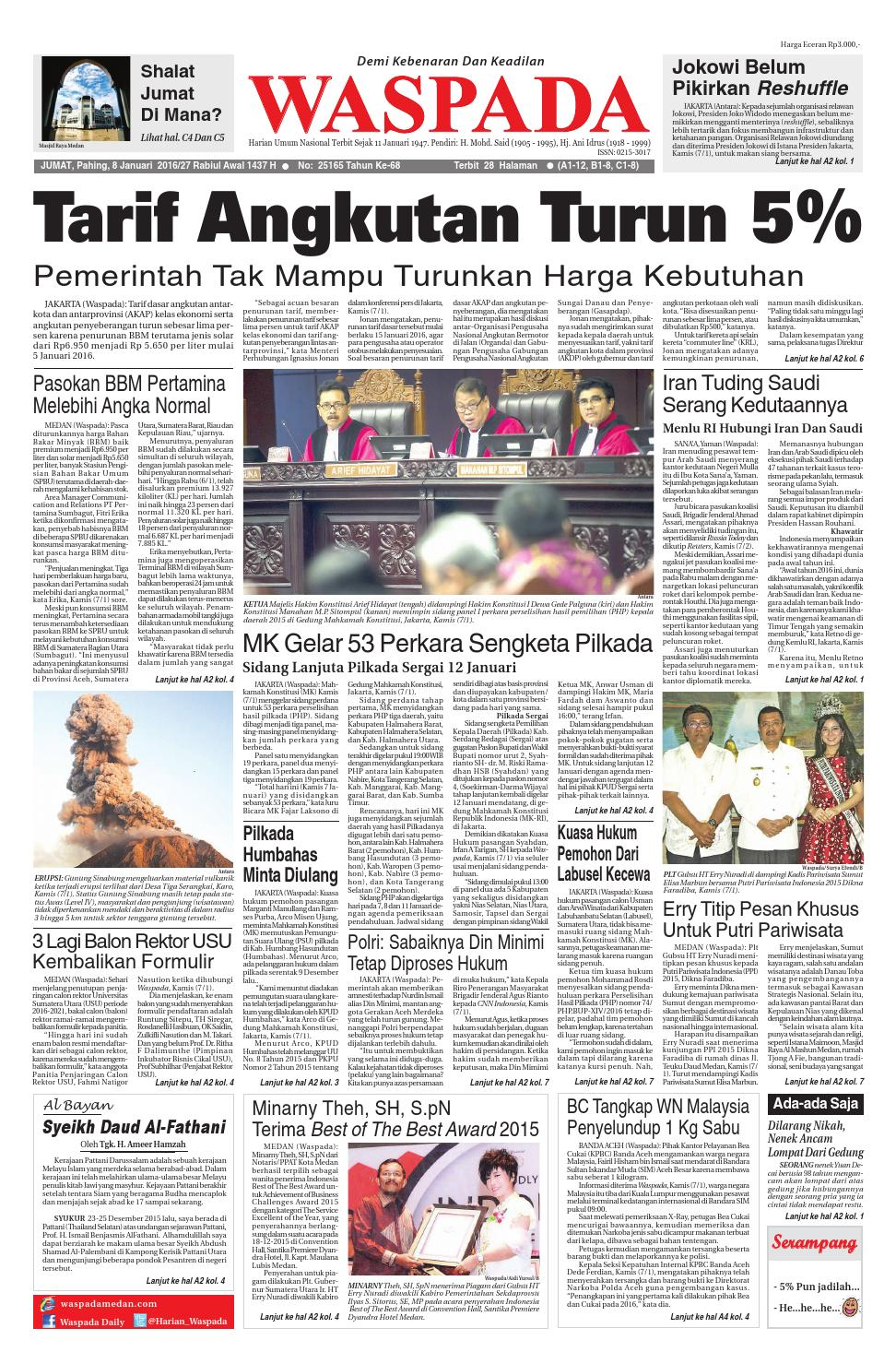 Gallery Waspada, jumat 10 januari 10 by Harian Waspada   issuu is free HD wallpaper.