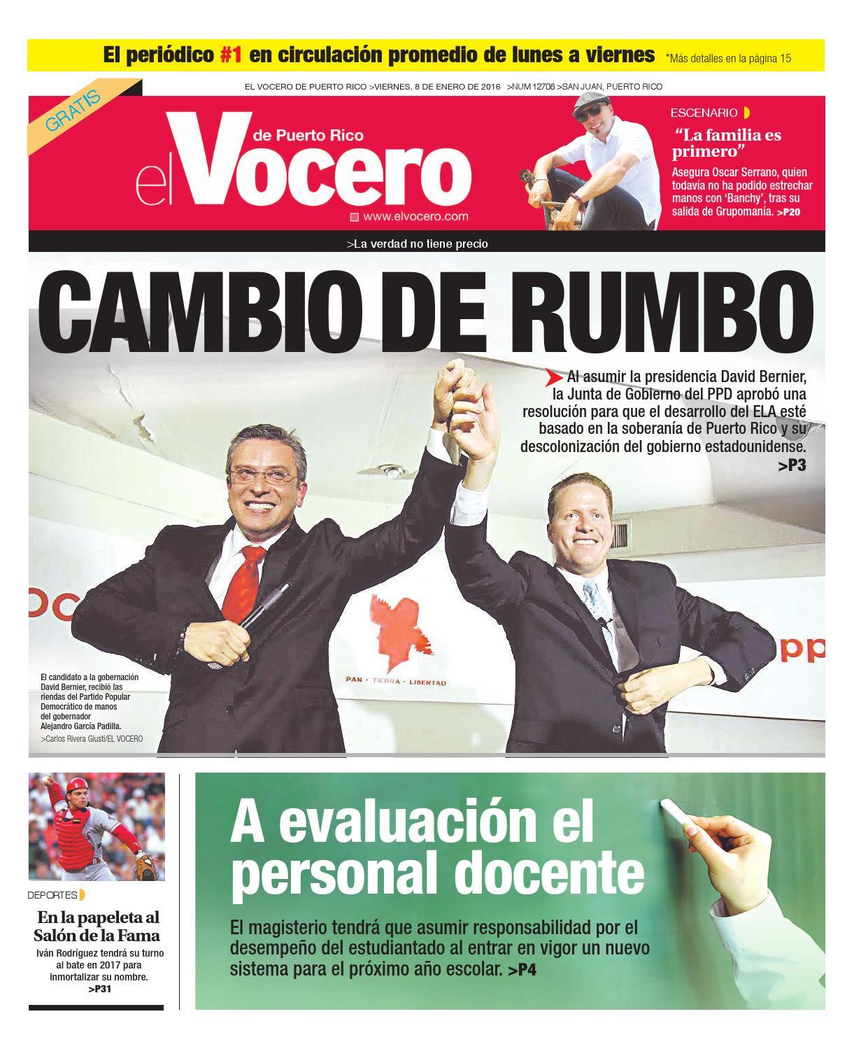 Edición 8 de Enero 2016 by El Vocero de Puerto Rico - issuu d006bafb433