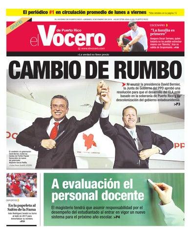 Edición 8 de Enero 2014 by El Vocero de Puerto Rico - issuu 63bed50154c