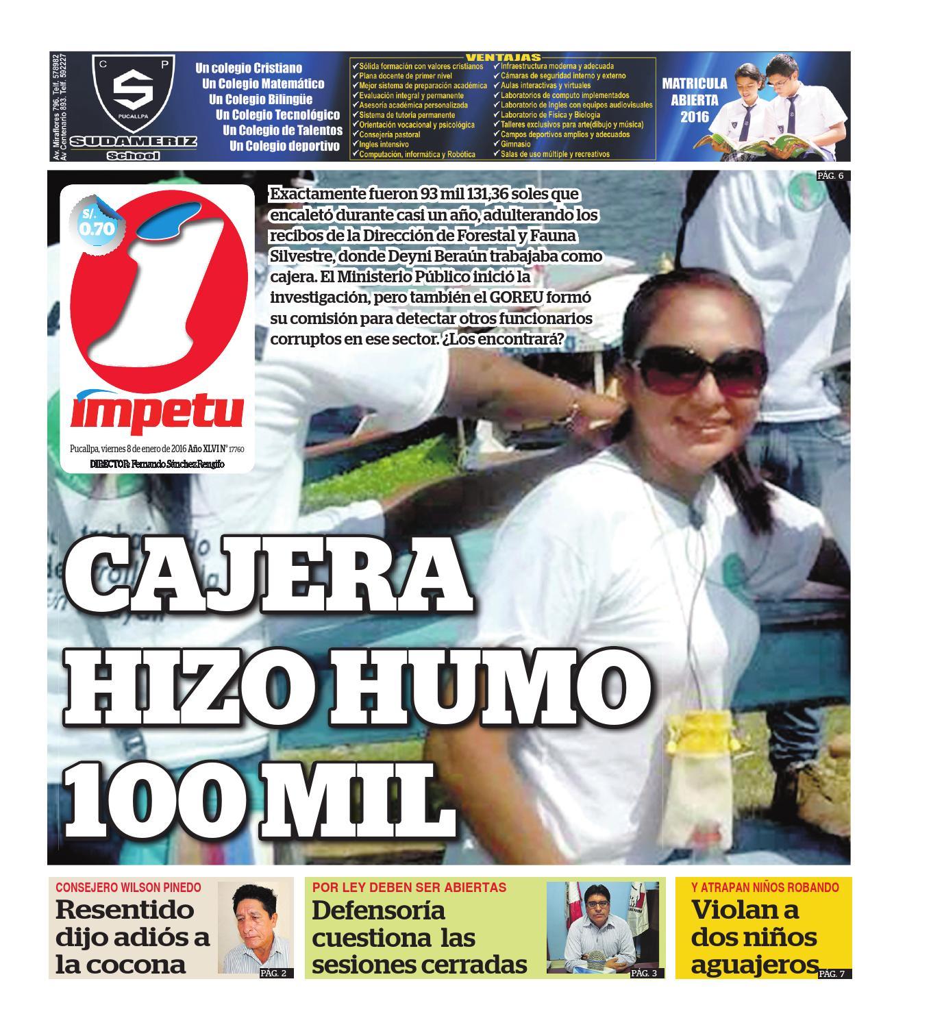 Impetu 8 de enero de 2016 by Diario Ímpetu - issuu