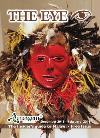 Theeye magazine by The Eye Malawi - issuu